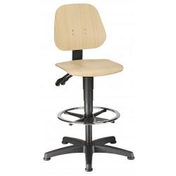 Sedia alta UNITEC 3 in legno