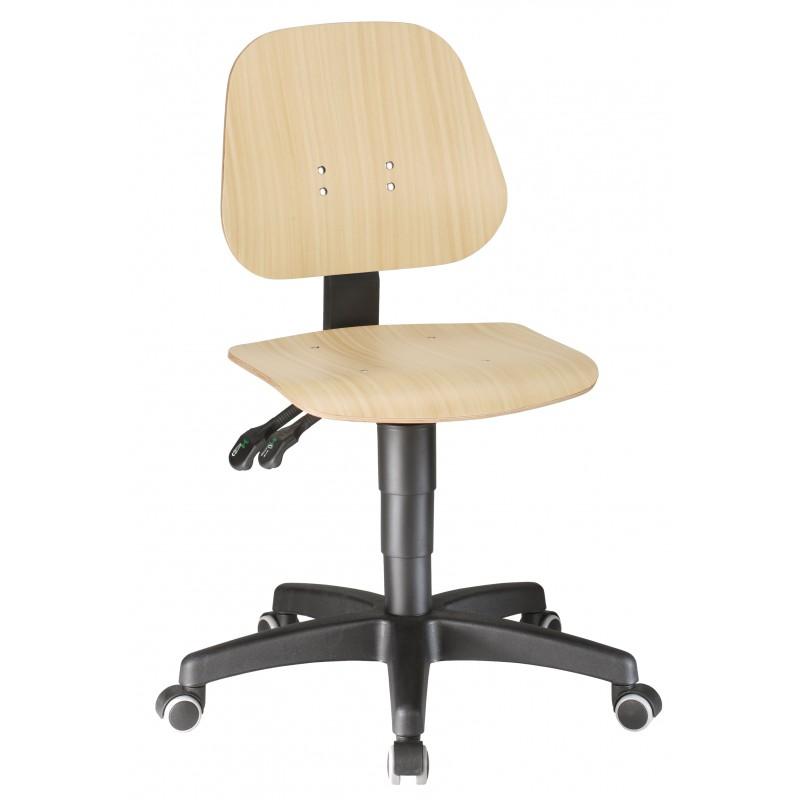 Sedia UNITEC 2 su ruote in legno