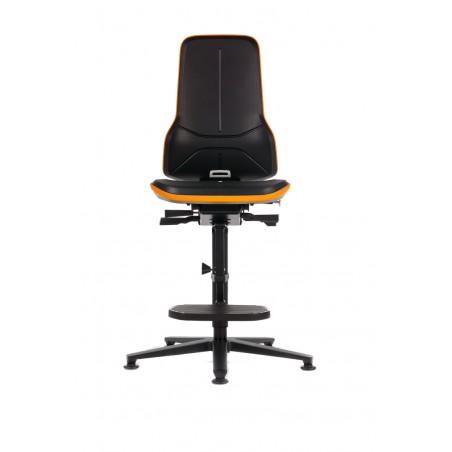 Sedia professionale Bimos Basic 2 su ruote schienale a contatto permanente