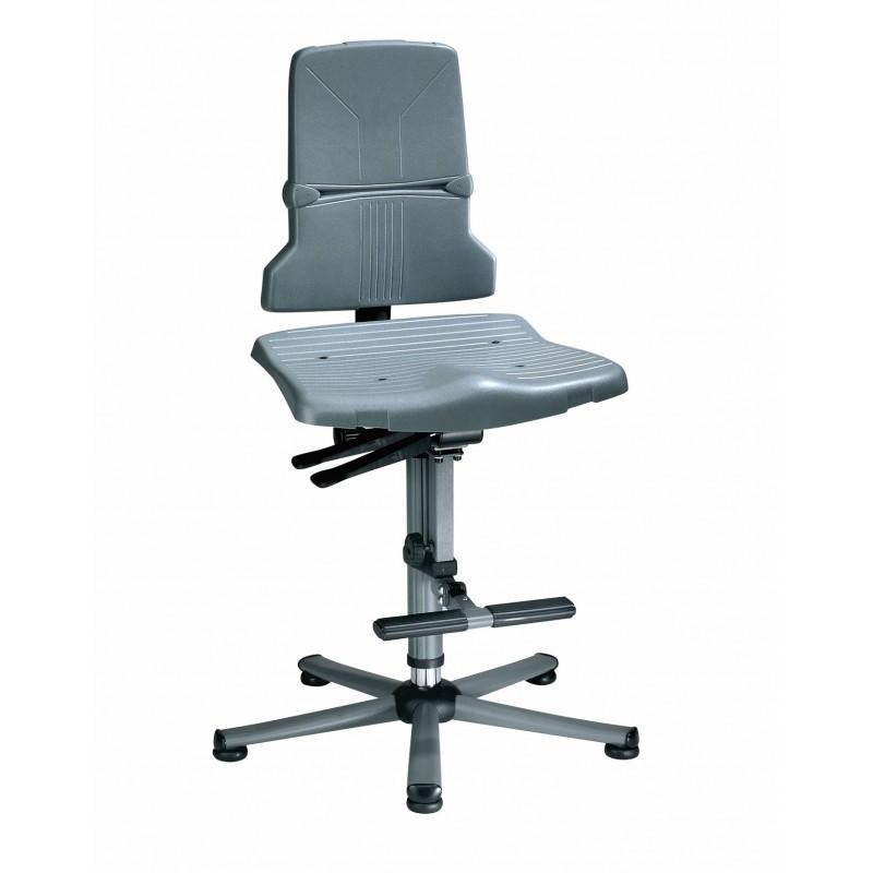 SINTEC 3 9821 sedia alta con anello poggia piedi
