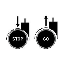 Ruote Stop & Go ESD 807